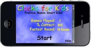Clock 4 Kids Home Page