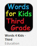 Words For 3rd Grade