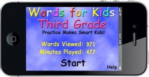Words For 3rd Grade Home Screen